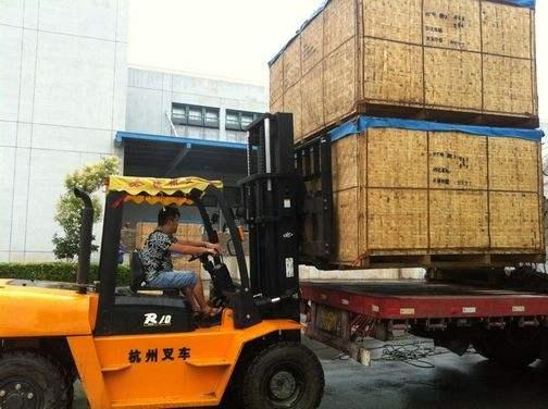 卸车装车-苏州力安吊装搬运有限公司、设备吊装、搬运、装卸、工厂搬迁